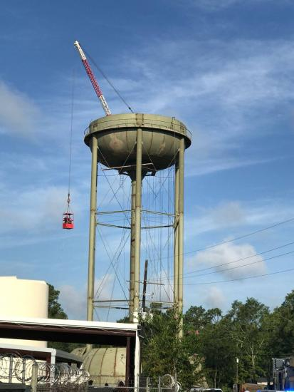 Fatal Accident At Water Tower
